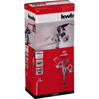 KWB PROFI fúrógép befogó adapter satuval