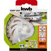 KWB Akku Top keményfém körfűrészlap, 150x16x1.2mm, fogak: 24