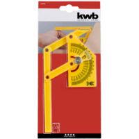 KWB külső-, belső szögmérő, 155x90mm