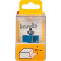 KWB Premium csapácsas falcmarókés, TCT, 31.7x8mm