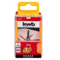 KWB PROFI HSS nútmaró kés 10x8 mm