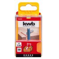 KWB PROFI HSS TCT nútmaró kés 12x8 mm