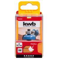 KWB PROFI HSS TCT csapágyas kerekítő kés 19x8 mm