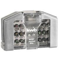 KWB PROFI BIT-BOX a leggyakrabban használt bit-szár klt. (32db-os)