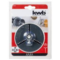 KWB tányér koronafúróhoz 33-83mm