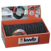 KWB PROFI POLYCARBIDE csiszolókorong 115x22mm