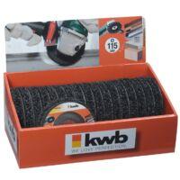 KWB PROFI POLYCARBIDE csiszolókorong 125x22mm