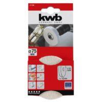 KWB PROFI polírozó filckorong 75x13mm
