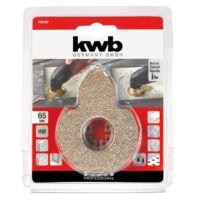 KWB PROFI TC multi-szerszám félkör csiszolópenge vágócsúccsal 80mm