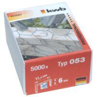 KWB PROFI extra erős acél tűzőgép kapocs 11