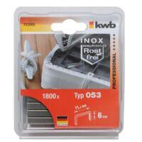 KWB PROFI INOX tűzőgép kapocs 11