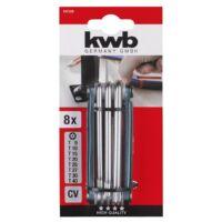 KWB PROFI CrV torz kulcs klt. (8db-os)