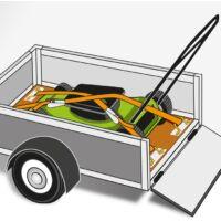 KWB PROFI minősített kampós rakományrözítő heveder 3