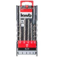 KWB TCT betonfúró készlet 3-10 mm (8db-os)