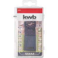 KWB AKKU TOP ENERGY SAVING CV multi-szerszám vágópenge 5 db, 34 x 48 mm
