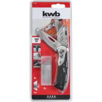 KWB zsebkés, extra kemény fém, 165mm