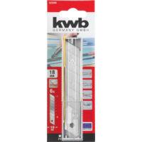 KWB cserélhető pengék, titán, 18mm, 6db