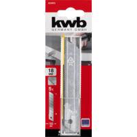 KWB hullámos fogazású vágópenge, 18mm, 5db