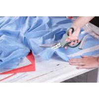 KWB Inox textilvágó olló, 235mm