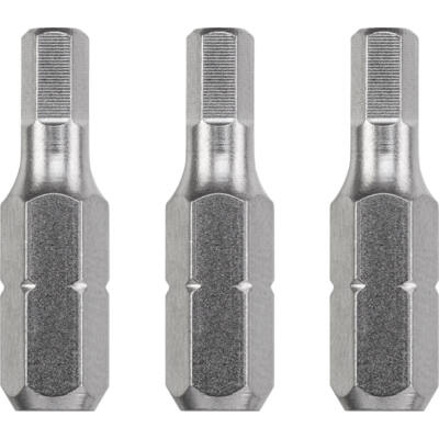 KWB Industrial HEXAGON hajtó bit, 5.5x25mm, 3db