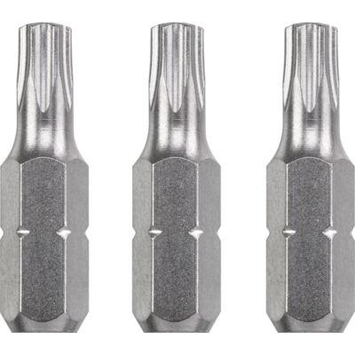 KWB Industrial TAMPER TORX hajtó bit, T30x25mm, 3db