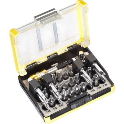 KWB Profi TQ60 STEEL biztonsági bit készlet, 28 darabos