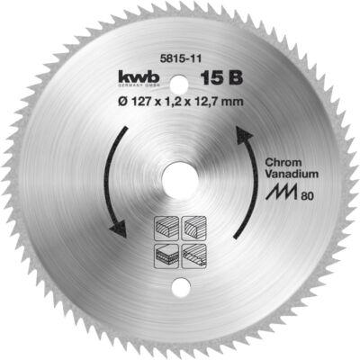 KWB körfűrészlap, 160x16mm, 100 fogas