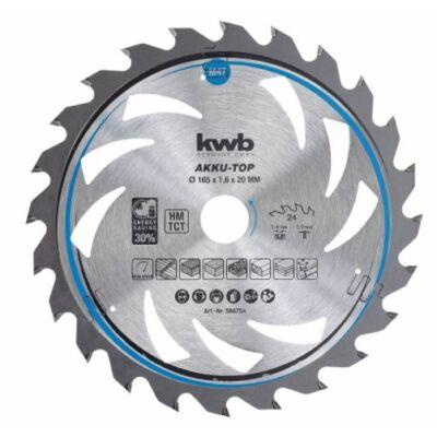 Einhell KWB 24 fogas körfűrészlap, 165x20mm