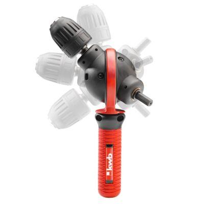 KWB PROFI INDUSTRIAL 360°-ban elforgatható fúró adapter 0,5-10 mm