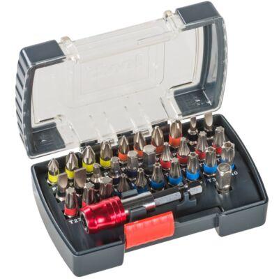 KWB STANDARD TQ60 STEEL BIT-BOX bit klt. (32db-os)
