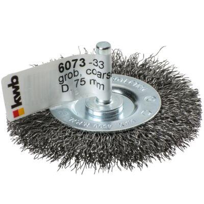 KWB PROFI HSS fonott drótkorong lapos vékony 0,35x75mm