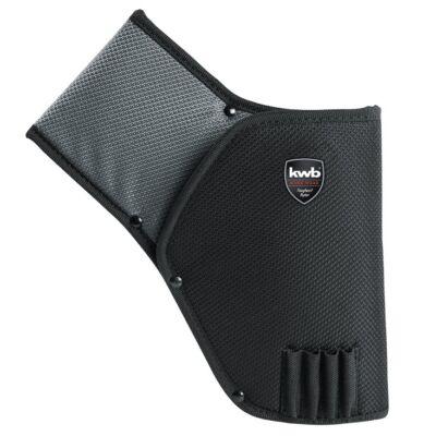 KWB PROFI szürke-fekete gyöngyvászon pisztolytáska