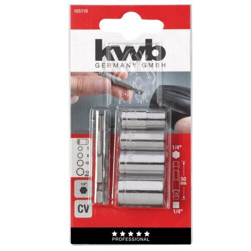 KWB PROFI CrV dugókulcs + adapter klt. (5db-os) cbd214ddea
