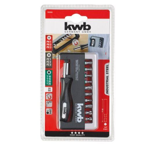 KWB PROFI TQ60 INDUSTRIAL STEEL ipari acél bit klt. (12db-os) d771c3dc1d